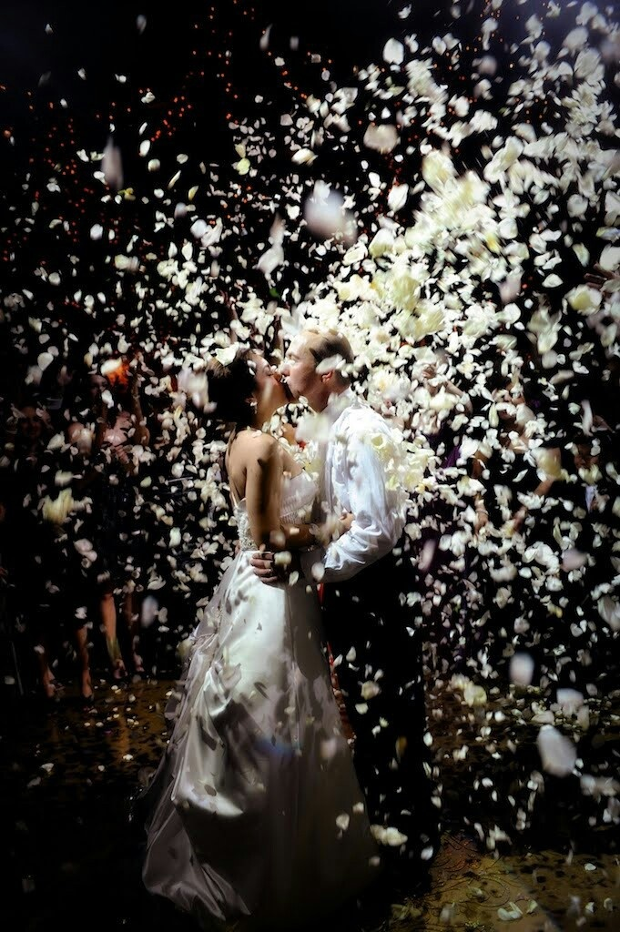 creative wedding send offs behind the wedding
