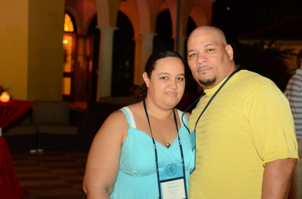 Us at Sandals Whitehouse!