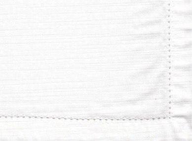 White Hemstitch