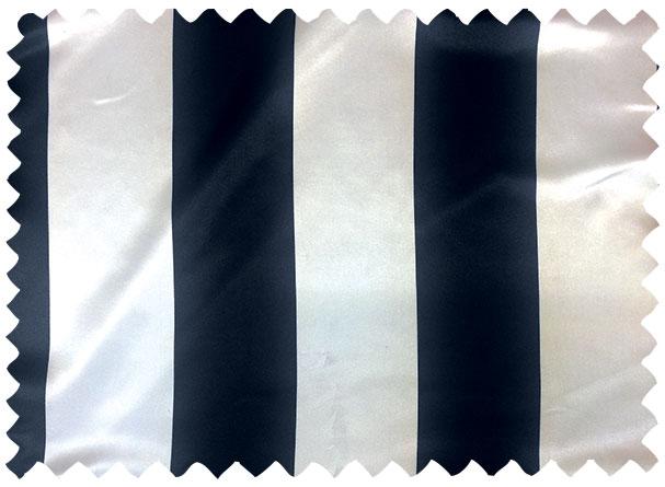 Navy/White Print