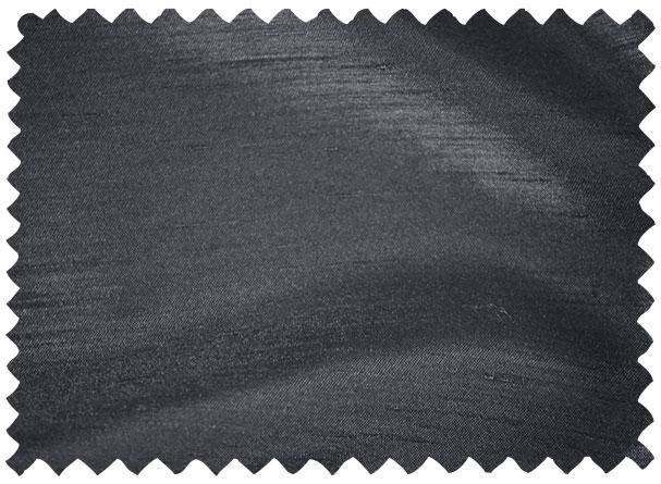 Charcoal Shantung